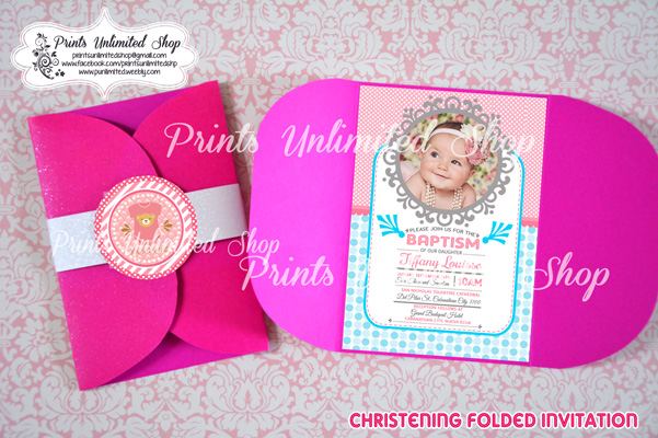 Prints unlimited shop invitations and souvenirs home birthdaychristeningbaptism dedication baby showers stopboris Images